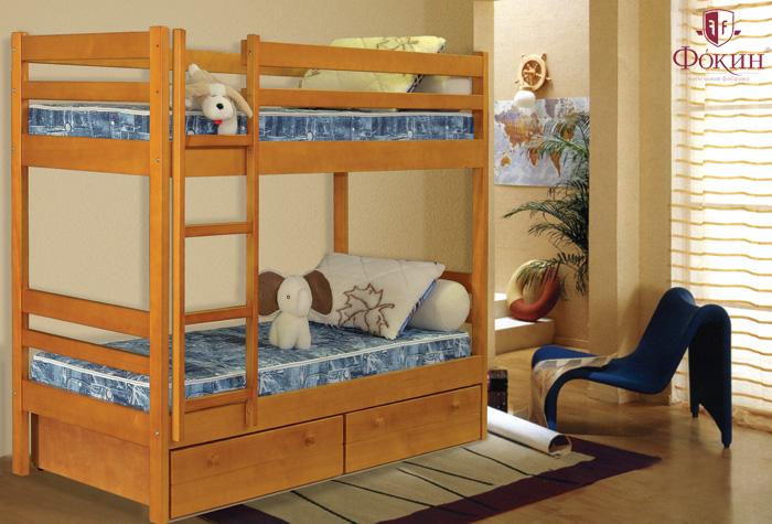 Кровать в детскую своими руками