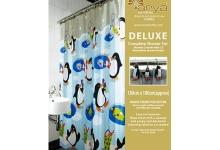 Штора для ванны Big Penguin_arya
