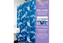 Штора для ванны Dolphin_arya