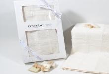 Полотенце из бамбука крем