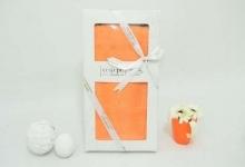 Полотенце из бамбука оранжевое