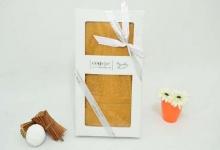 Полотенце из бамбука золотое