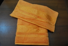 Полотенце Оздилек Бамбук Оттоман F00043 оранжевое
