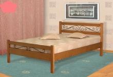 Кровать из сосны Венеция - 2 спинки