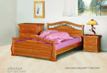Кровать из сосны Венера - 2 спинки