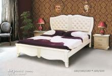 Кровать из сосны Верона (кожа) - 1 спинка