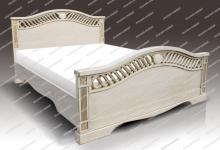 Кровать Милена из дуба-Муром