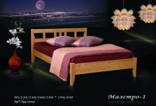 """кровать из дуба """"Маэстро - 1 спинка"""""""