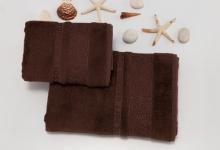 Полотенца из бамбука коричневые