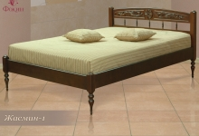 """кровать из дуба """"Жасмин - 1 спинка"""""""