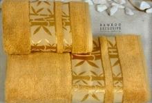 Полотенца из бамбука золотое