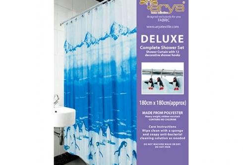 Штора для ванны Penguin_arya