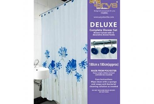 Штора Arya для ванны Blue Daisy_arya