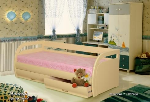 """кровать из дуба """"Элегия"""""""