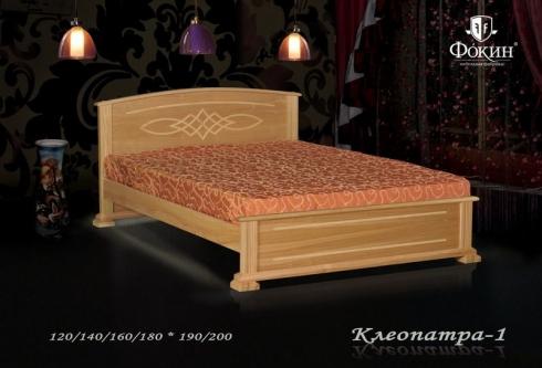 """кровать из дуба """"Клеопатра - 1 спинка"""""""