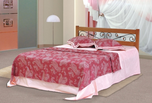 Кровать из сосны Венеция - 1 спинка