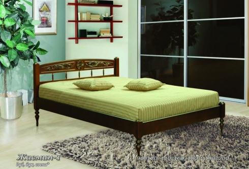 Кровать из сосны Жасмин - 1 спинка