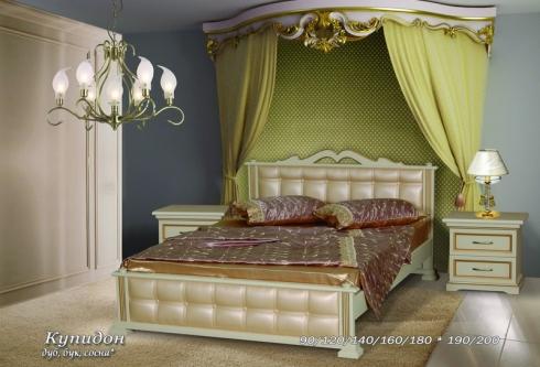 """кровать из дуба """"Купидон - 1 спинка"""""""