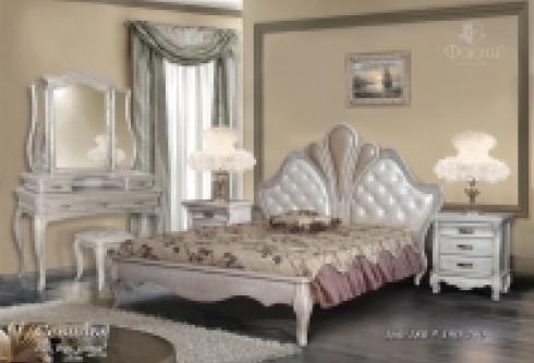 """кровать из бука """"Севилья - 1 спинка"""""""